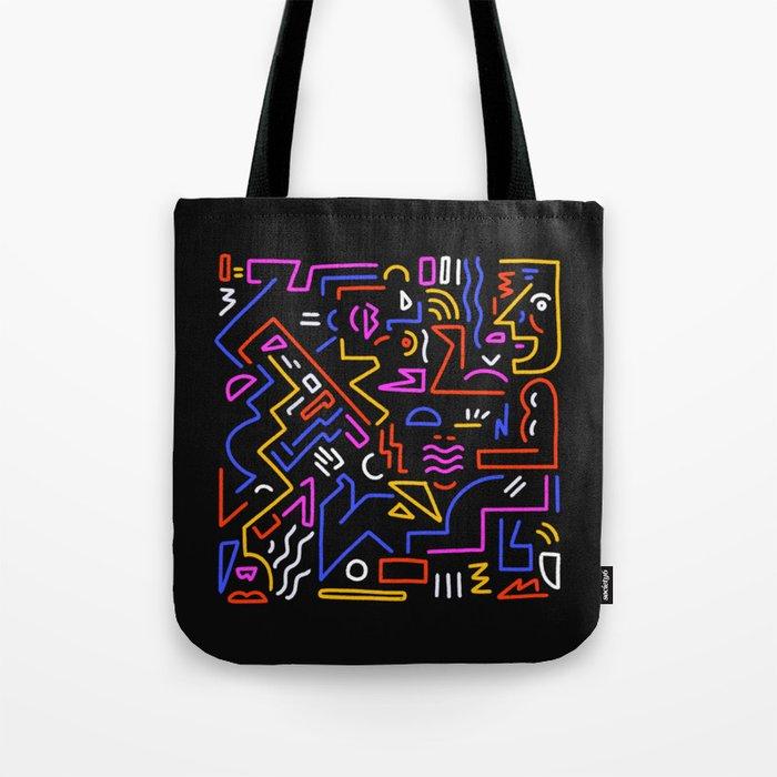Rock the box Tote Bag