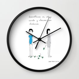 Secret Code to Forget Wall Clock