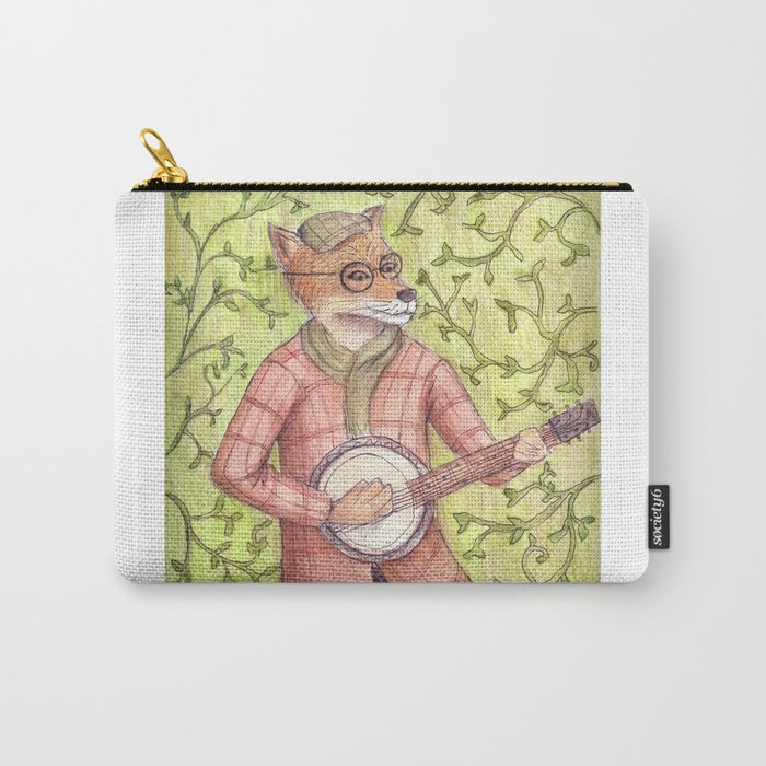 Play us a song Mr. Fox Carry-All Pouch