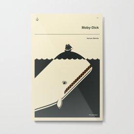 MOBY-DICK Metal Print
