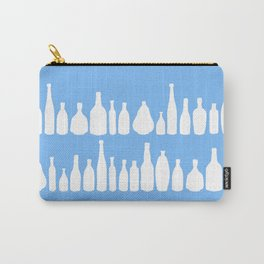 Bottles Blue Carry-All Pouch