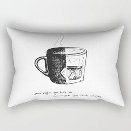 Tea or Whiskey Rectangular Pillow