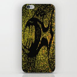 Tooth fish Yellow iPhone Skin