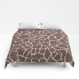 Brown Elephant Comforters