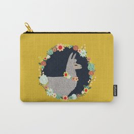 lovely llama Carry-All Pouch