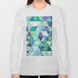 Abstract #837 Long Sleeve T-shirt