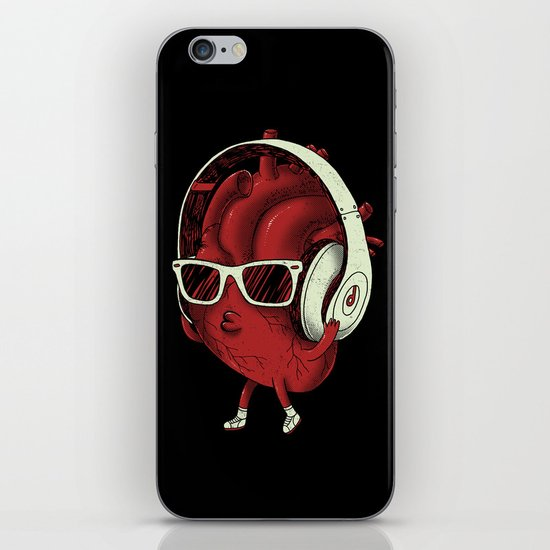heartBEAT iPhone & iPod Skin