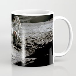Apollo 15 - Moonwalk 1971 Coffee Mug
