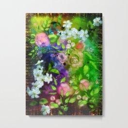Floral Fantasy 8 Metal Print