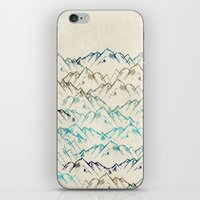 mountains iPhone & iPod Skins featuring Mountains  by rskinner1122