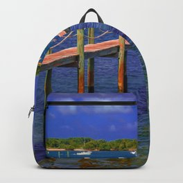 Boat Ramp To Paradise Backpack
