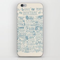 How to make the perfect mixtape iPhone & iPod Skin