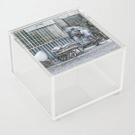 Marble Sculptor in Italy Acrylic Box