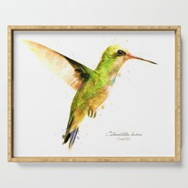Hummingbird I Serving Tray