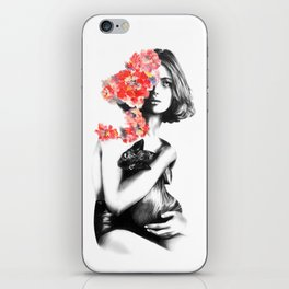 Natalia Vodianova // Fashion Illustration iPhone Skin