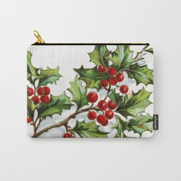 Holly Berries 20171001 by JAMFoto Carry-All Pouch