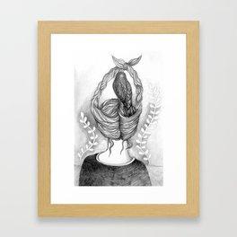 Back  Framed Art Print
