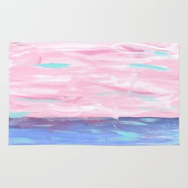 Pink Sky Delight Rug