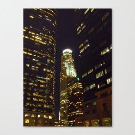 Los Angeles: Night Canvas Print