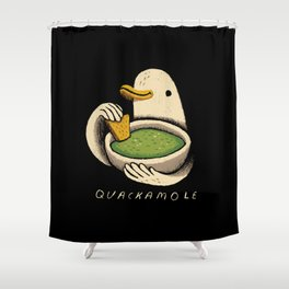 quackamole Shower Curtain