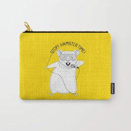 Hamster singing MC Hammer | Animal Karaoke | Yellow Carry-All Pouch