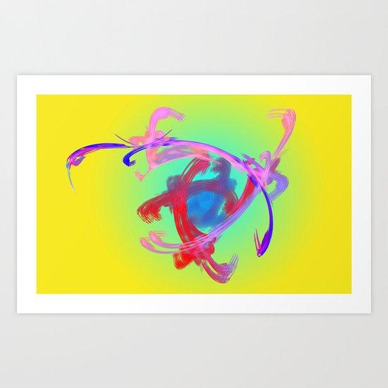 Magic Love Art Print