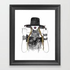 Creole Queen Bey Framed Art Print