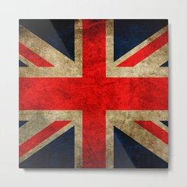 United Kingdom Flag Metal Print