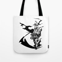 durarara Tote Bags featuring Celty & Shooter by Prince Of Darkness