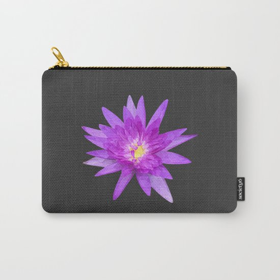 purple lotus flower Carry-All Pouch