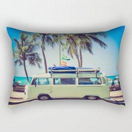 Summer Vacation Road Trip (Beach) Rectangular Pillow