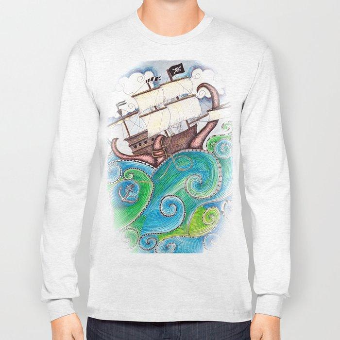 Pirate Peril Long Sleeve T-shirt