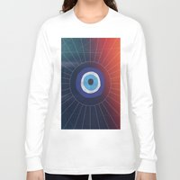evil eye Long Sleeve T-shirts featuring Evil Eye by DuckyB