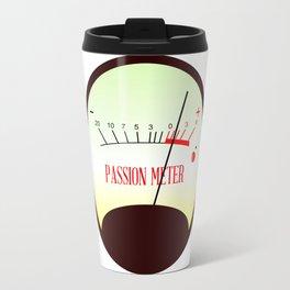 Red Hot Passion Meter Travel Mug