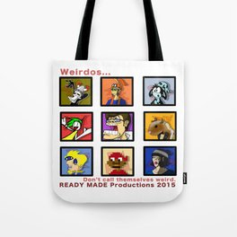 Ready Made Productions Promo Poster 2015 Tote Bag