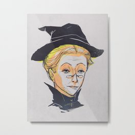Minerva the Wise Metal Print