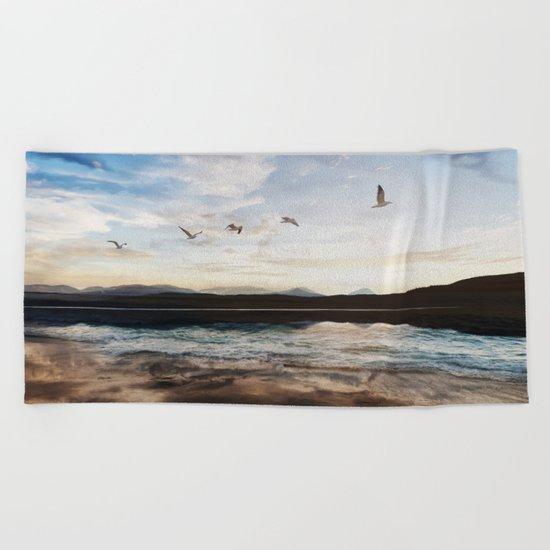 We sink Beach Towel