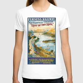 Furness Railway and Lady of the Lake T-shirt