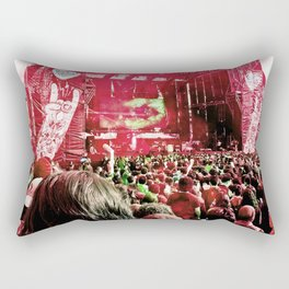 Our rock festival. The biggest of Latin America. Rectangular Pillow