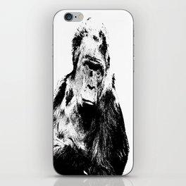 Gorilla In A Pensive Mood Portrait #decor #society6 iPhone Skin