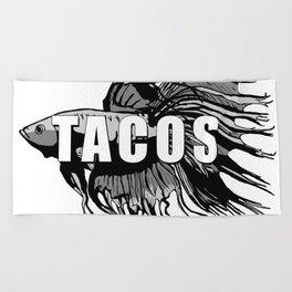 TACOS Beach Towel