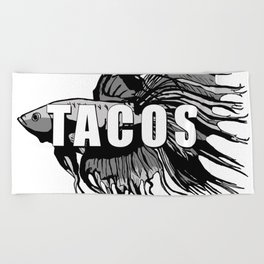 TACOS Beach Towel