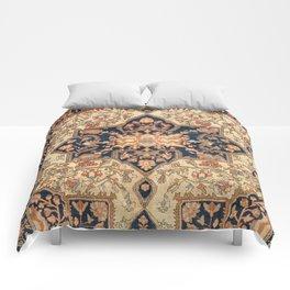 Ferahan  Antique West Persian Rug Print Comforters