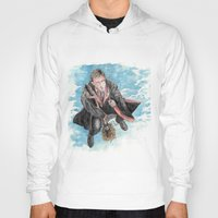 potter Hoodies featuring Harry Potter  by Dave Seedhouse.com