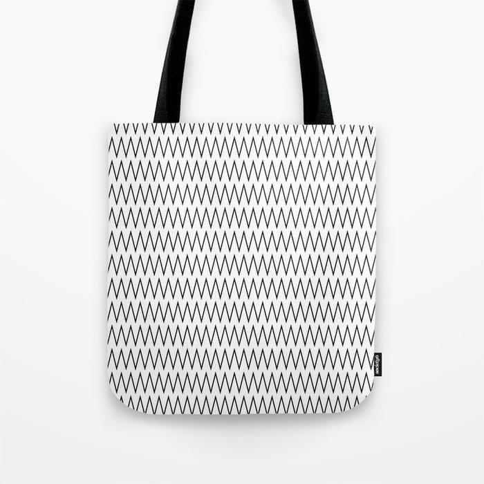 Minimalist Chevron Tote Bag