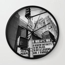 New York IFC Theatre Wall Clock