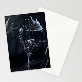 Necromancer's Elk Stationery Cards