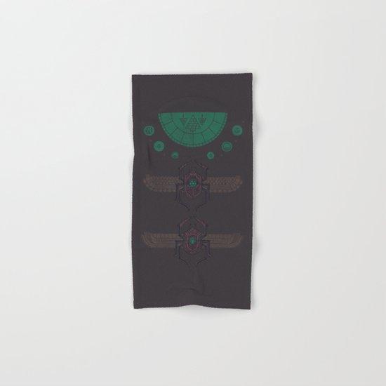 Scarabs Hand & Bath Towel