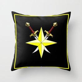 The Eldritch Trickster Throw Pillow