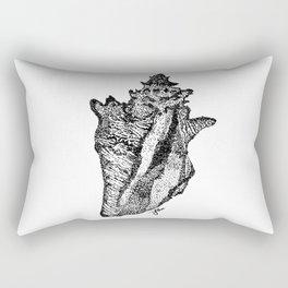 Conch Shell Rectangular Pillow